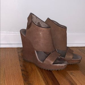 Suede Vince Camuto wedges